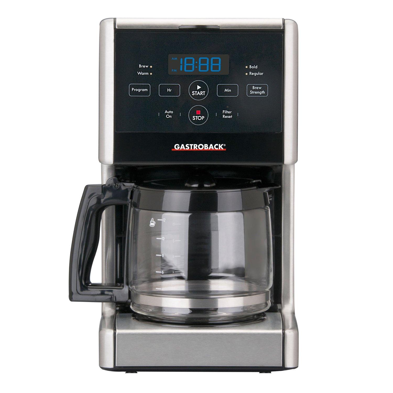 gastroback kaffeemaschine  die besten 5 in unserem vergleich ~ Kaffeemaschine Ohne Abschaltautomatik